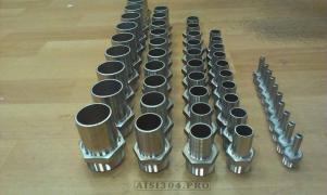 Штуцер шланговий нержавіючий Ду 15 * 13 мм (1/2) AISI 304