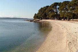 Summer in Croatia. Relaxation among the parks and Islands in Fazana