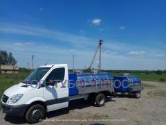 Tank trucks, water carriers, milk carriers, fish carriers