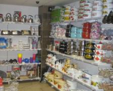 The trading equipment, shelves for shops ware